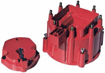 Proform Performance Parts - Proform Distributor Cap and Rotor Kit - Red Cap