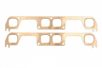 SCE Gaskets - SCE SB Chevy Copper Exhaust Gaskets for Brodix S/P