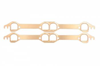 SCE Gaskets - SCE SB Chevy LT1 D-Port Copper Exhaust Gasket Set