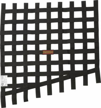 RaceQuip - RaceQuip Window Net Drag 24 to 18x23 SFI Black