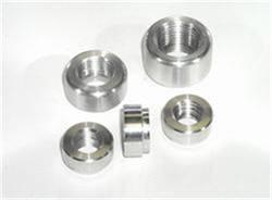"""Meziere Enterprises - Meziere 1/2""""NPT Female Steel Weld-In Fitting"""