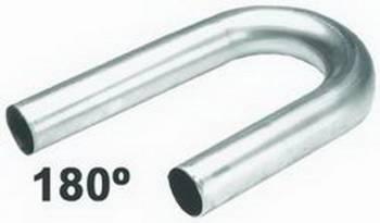 """Hedman Hedders - Hedman Hedders U-Bend Mild Steel 1.625 x 2.5"""" Radius 18 Gauge"""