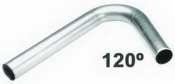 """Hedman Hedders - Hedman Hedders J-Bend Mild Steel 2.500 x 4"""" Radius 18 Gauge"""