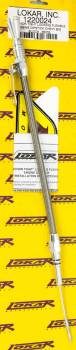 Lokar - Lokar Anchor-Tight Locking Flexible Engine Dipstick - Brite