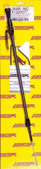 Lokar - Lokar Midnight Series Anchor-Tight Locking Flexible Engine Dipstick - 97 and Later GM LS1