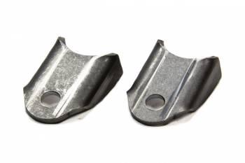 Meziere Enterprises - Meziere 4130 Moly Chassis Tab - Bent - 3/8 Hole (2 Pack)