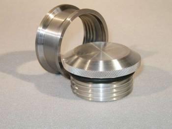 Meziere Enterprises - Meziere 2.5 Pro Filler Cap & Bung - Weld-In