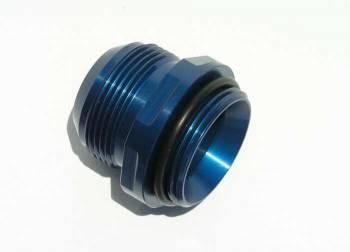 Meziere Enterprises - Meziere #20 AN Water Neck Fitting - Blue