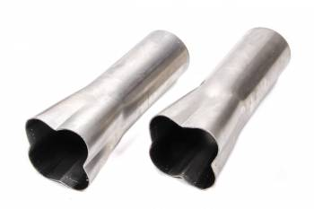"Patriot Exhaust - Patriot formed Collectors - (Set of 2) - 1-1/2"" x 3"""
