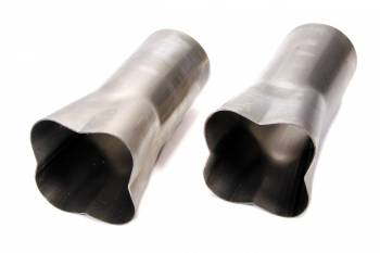 "Patriot Exhaust - Patriot formed Collectors - (Set of 2) - 2-1/4"" x 4"""