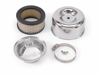Edelbrock - Edelbrock 94 Chrome Air Cleaner - Round