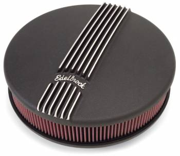 Edelbrock - Edelbrock Classic Series Air Cleaner - Black Powder Coated