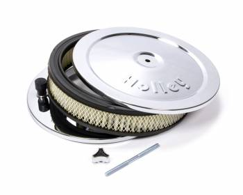 Holley Performance Products - Holley Chrome Round Air Cleaner - 10""
