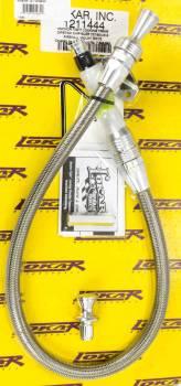 Lokar - Lokar Anchor-Tight Locking Flexible Transmission Dipstick - Chrysler 727/904/518 Firewall Mount