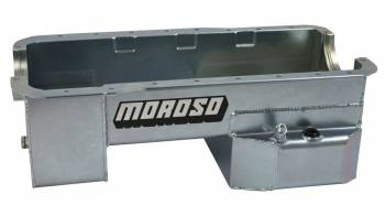 Moroso Performance Products - Moroso SB Ford Rear Sump Oil Pan - 302
