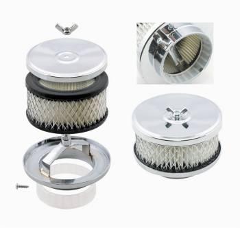 """Mr. Gasket - Mr. Gasket Deep-Dish Air Cleaner - 4"""" Diameter"""