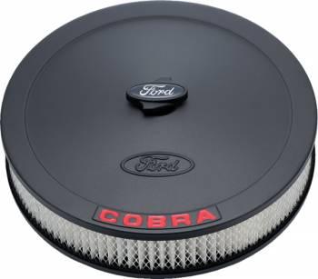 """Proform Parts - Proform Air Cleaner - Ford Cobra Emblem - 13"""" Diameter"""