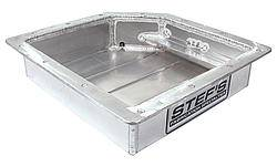 Stef's Fabrication Specialties - Stef's Fabricated Aluminum Transmission Pan - GM TH350