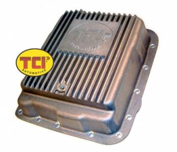 TCI Automotive - TCI 700R4/ 4L60E Cast Aluminum Deep Pan