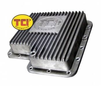 TCI Automotive - TCI C-6 Deep Aluminum Oil Pan
