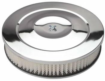 "Trans-Dapt Performance - Trans-Dapt Chrome Air Cleaner Performance Style 14"" Diameter"