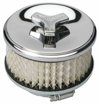 "Trans-Dapt Performance - Trans-Dapt Chrome Air Cleaner Deep Dish Style - 4"" Diameter"