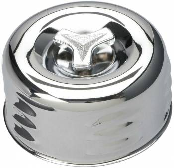 "Trans-Dapt Performance - Trans-Dapt Chrome Air Cleaner - Louvered Style 4 5/8"" Diameter"