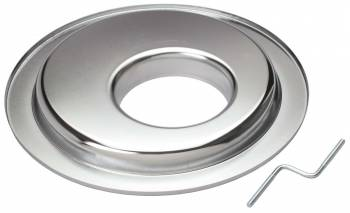 "Trans-Dapt Performance - Trans-Dapt Chrome Air Cleaner Base - Offset - 14"" Diameter"