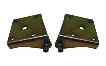 "Detroit Speed Engineering - Detroit Speed Engineering Mini-Tub Lower Shock Plates-Left-Mini-Tubbed 3"" Axle, 1/2"" bolts"