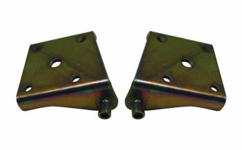 "Detroit Speed Engineering - Detroit Speed Engineering Mini-Tub Lower Shock Plates-Right-Mini-Tubbed 3"" Axle, 1/2"" bolts"