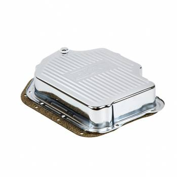 B&M - B&M Chrome Deep Transmission Pan For TH 400 Transmission