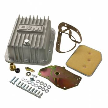 B&M - B&M Cast Deep Transmission Pan For C4 Transmission