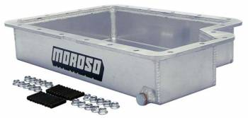 "Moroso Performance Products - Moroso Aluminum Transmission Pan - Ford E40D/4R100, 3.642"" Deep"