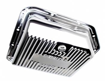 Trans-Dapt Performance - Trans-Dapt Chrome Transmission Pan - TH-350 Finned Bottom