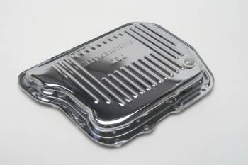 Trans-Dapt Performance - Trans-Dapt Chrome Transmission Pan - Torqueflite 727 Finned Bottom