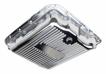 Trans-Dapt Performance - Trans-Dapt Chrome Transmission Pan - TH700R4/4L60E Finned