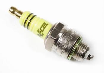 Accel - ACCEL U-Groove Spark Plug - Header Plug - Resistor