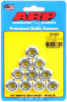 ARP - ARP M10 x 1.25 Locking Flange Nuts (10)