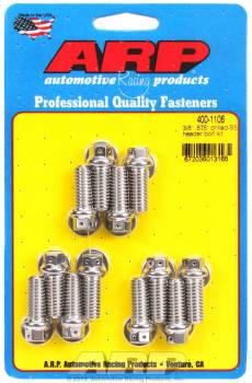 ARP - ARP Stainless Steel Header Bolt Kit - 3/8 x .875 UHL (12)