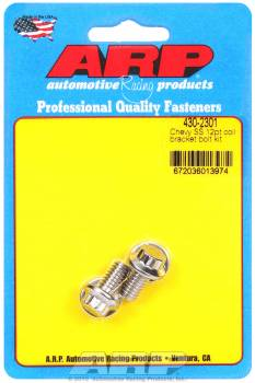 ARP - ARP Stainless Steel Chevy Coil Bracket Bolt Kit - 12 Point
