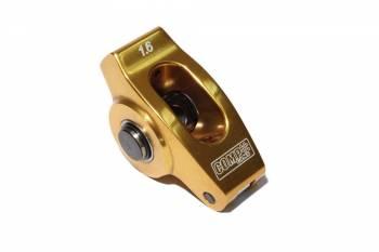 Comp Cams - COMP Cams SB Chevy Ultra Gold Rocker Arm - 1.6 Ratio 7/16 Stud