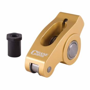 """Crane Cams - Crane Cams SB Chevy Aluminum Rocker Arm - 1.6 Ratio 3/8"""" Stud"""