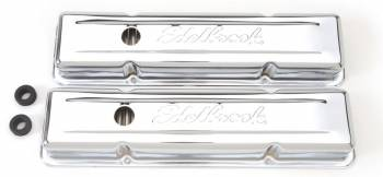 Edelbrock - Edelbrock Signature Series Valve Covers - 59-86 SB Chevy