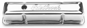 Edelbrock - Edelbrock Signature Series Valve Covers - 59-86 SB Chevy
