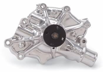 Edelbrock - Edelbrock Victor Series Water Pump - Polished Aluminum
