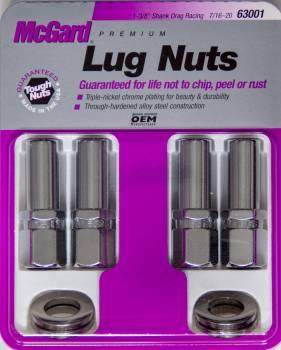 McGard - McGard Lug Nut 7/16 X-Long Shank Race