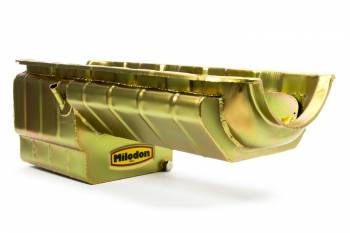 Milodon - Milodon BB Chevy Pro Comp Oil Pan w/ Full Kick-Out