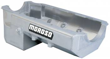 Moroso Performance Products - Moroso BB Chevy Pro-Eliminator Aluminum Oil Pan - 7 Qt.