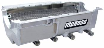 Moroso Performance Products - Moroso BB Chevy Stage III Drag Race Oil Pan