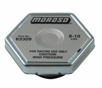 Moroso Performance Products - Moroso Racing Radiator Cap 8-10lbs.